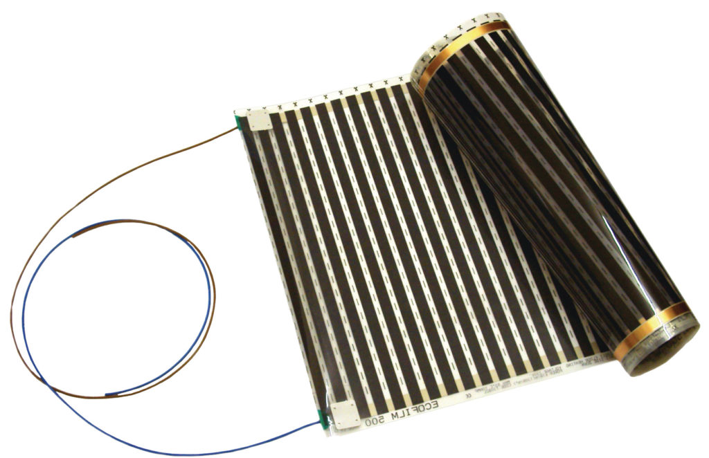 Electric Under Vinyl Floor Heating Systems