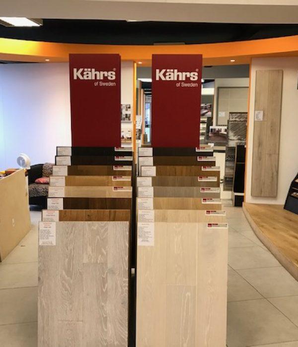 kahrs wood flooring shop display