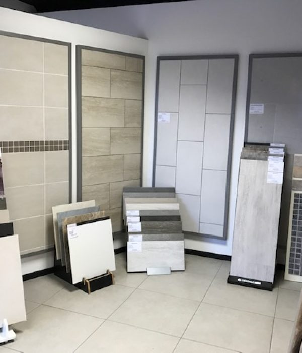 floor tile shop display