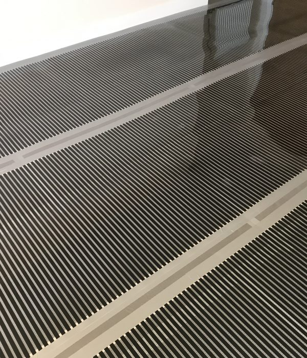 carbon film underfloor heating system